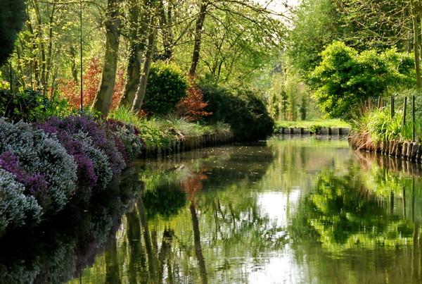 Mes parcs et jardins les hortillonnages d 39 amiens centerblog - Les hortillonnages d amiens ...