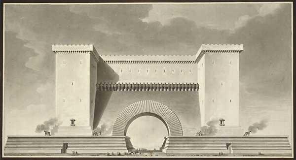 Mus e virtuel tienne louis boull e for Architecture eclectique
