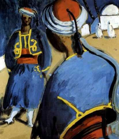 Auguste chabaud fauve et expressionniste au mus e de s te for Auguste chabaud cote