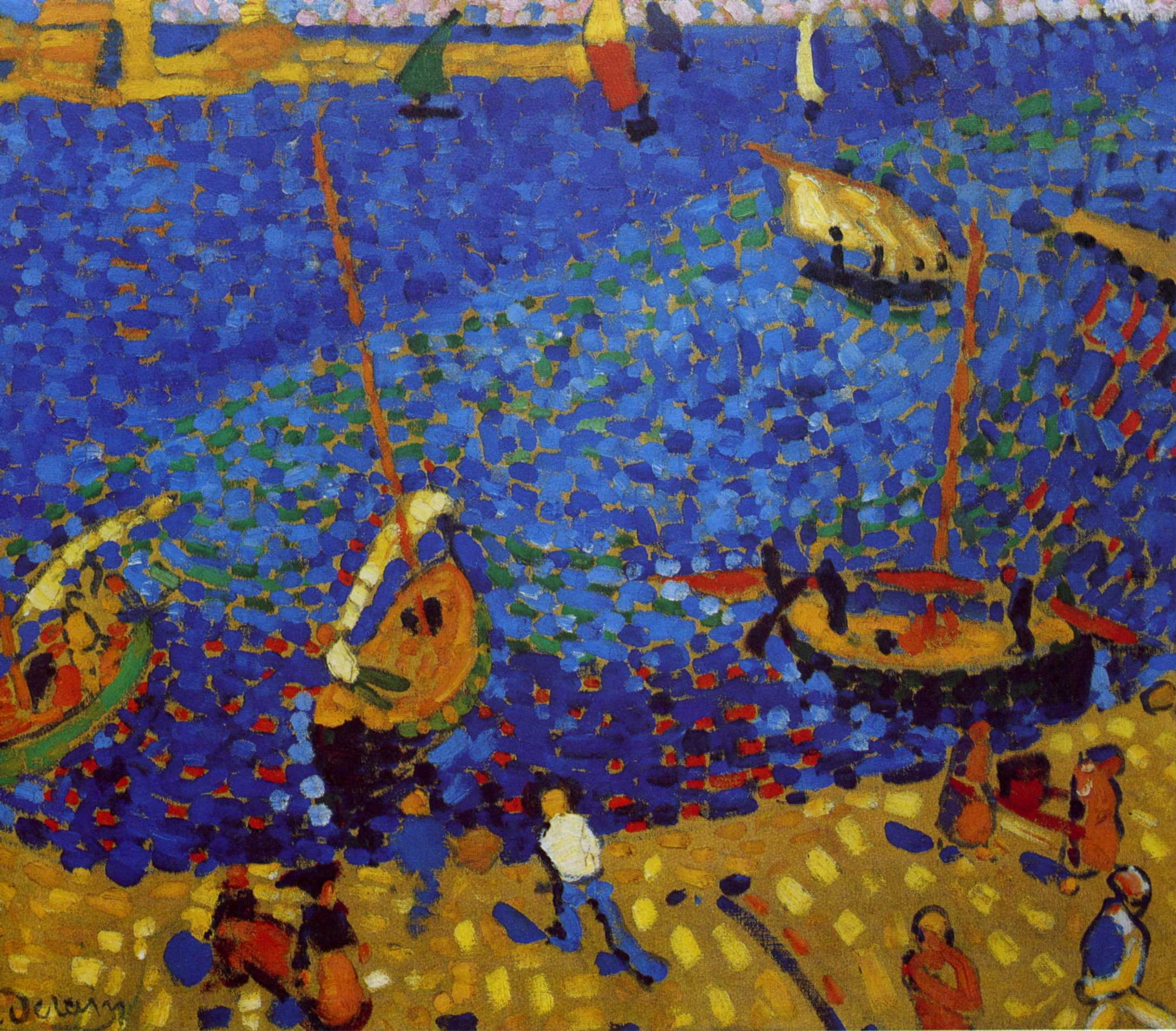Mus e virtuel andr derain for Matisse fenetre ouverte collioure