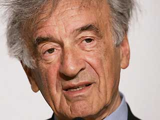 lie Wiesel : &quot;Je ne suis pas ici par hasard&quot; 